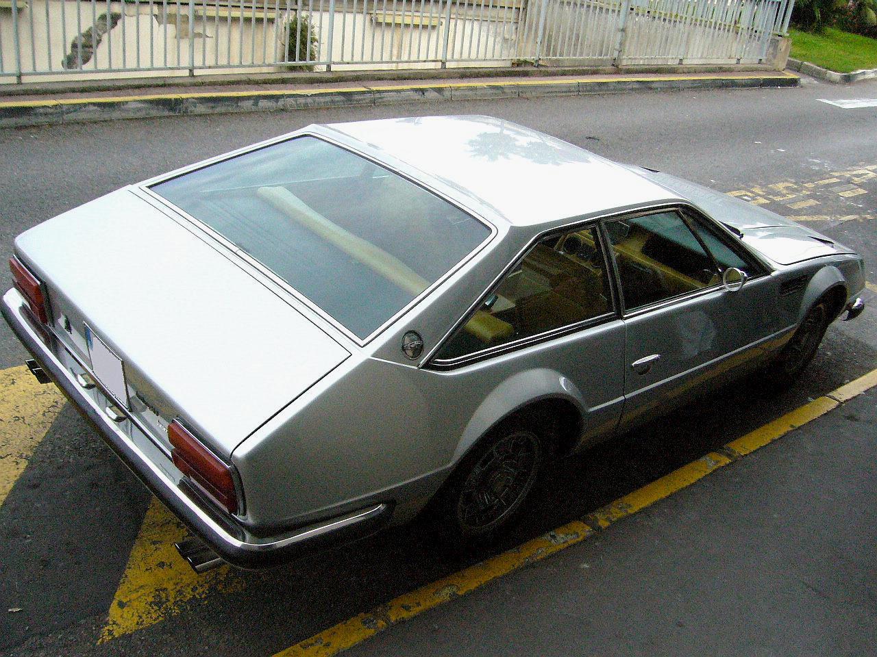 classic Lamborghini GT,